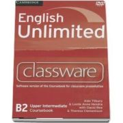 English Unlimited Upper Intermediate. Classware DVD