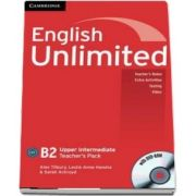 English Unlimited Upper Intermediate. Teachers Pack, Teachers Book with DVD