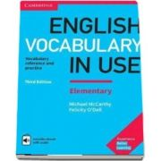 English vocabulary in use elementary. Book with answers and enhanced eBook