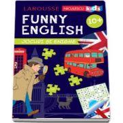 Sandra Lebrun, Funny English - Jocuri si enigme - Varsta recomandata 10 ani +