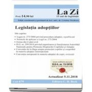 Legislatia adoptiilor. Actualizat la 5. 11. 2018 (cod 679)