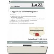 Legislatia constructiilor. Cod 677. Actualizat la 15.10.2018