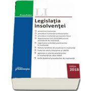 Legislatia insolventei - Editie actualizata la 15 octombrie 2018