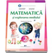 Matematica si explorarea mediului, manual pentru clasa a II-a de Constanta Balan
