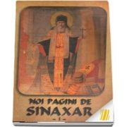 Noi pagini de Sinaxar I