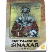 Noi pagini de Sinaxar III