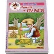 Povestea lui Stan Patitu. Carte de colorat