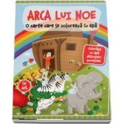Arca lui Noe. O carte care se coloreaza cu apa