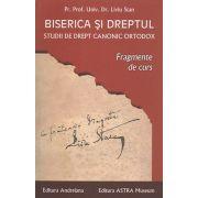 Biserica si dreptul. Studii de drept canonic ortodox. Fragmente de curs. Vol. VIII