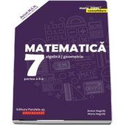 Matematica. Algebra, geometrie. Clasa a VII-a. Consolidare. Partea a II-a - Editia a VII-a (Mate 2000+)