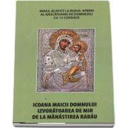 Icoana Maicii Domnului izvoratoarea de mir de la Manastirea Rarau