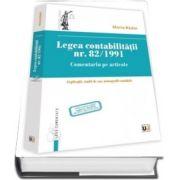 Legea contabilitatii nr. 82/1991. Comentariu pe articole