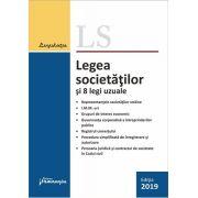 Legea societatilor si 8 legi uzuale - editie actualizata la 14 ianuarie 2019