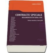 Contracte speciale reglementate in codul civil
