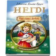 Heidi - Johanna Louise Spyri. Mari clasici ilustrati