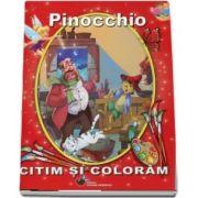 Pinocchio. Citim si coloram