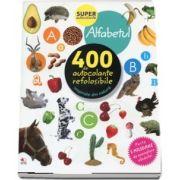 Alfabetul. 400 de autocolante refolosibile, inspirate din natura