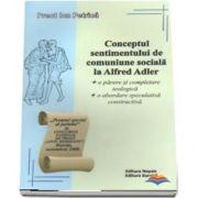 Conceptul sentimentului de comuniune sociala la Alfred Adler