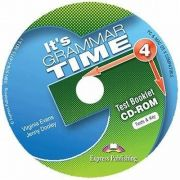 Curs de gramatica. Limba engleza Its grammer time 4. Test Booklet CD-ROM - Jenny Dooley, Virginia Evans