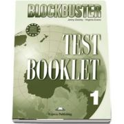 Curs de limba engleza Blockbuster 1. Test booklet - Jenny Dooley, Virginia Evans