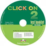 Curs de limba engleza. Click On 2.  Test booklet CD-ROM