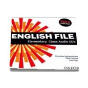 English File  Elementary. Class Audio CDs, third edition