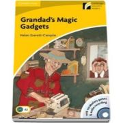 Grandads Magic Gadgets Level 2 Elementary/Lower-intermediate Book with CD-ROM and Audio CD Pack