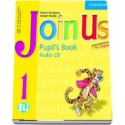 Join Us for English 1 Pupils Book Audio CD