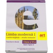 Limba engleza, clasa a V-a. Teachers Book. Eyes open 2