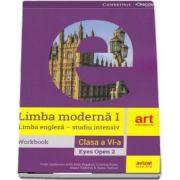 Limba engleza. Clasa a VI-a. Workbook. Eyes Open 2