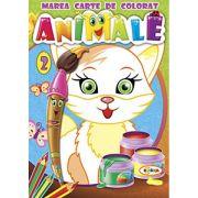Marea carte de colorat. Animale vol. 2
