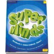 Super Minds. Workbook 1. Limba Engleza, pentru clasa I (Herbert Puchta)