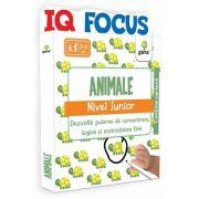 Animale. Nivel Junior - IQ FOCUS - Varsta recomandata: 3 - 4 ani