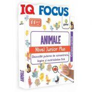 Animale. Nivel Junior Plus - IQ FOCUS - Varsta recomandata: 4 - 5 ani
