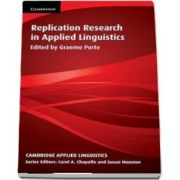 Cambridge Applied Linguistics: Replication Research in Applied Linguistics