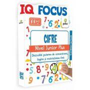 Cifre. Nivel Junior Plus - IQ FOCUS - Varsta recomandata: 4 - 5 ani