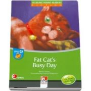 Fat Cats Busy Day Young Reader Level D with Audio CD