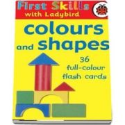 First Skills colours and shapes flash cards