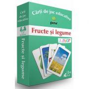 Fructe si legume (Carti de joc educative)