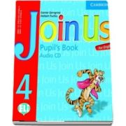 Join Us for English 4. Pupils Book, Audio CD