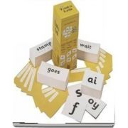 Jolly Phonics Cards : Set of 4 boxes in Precursive Letters