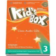 Kids Box Level 3 Class Audio CDs (3) British English