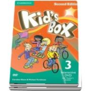 Kids Box Level 3 Interactive DVD (NTSC) with Teachers Booklet