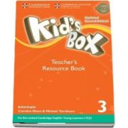 Kids Box Level 3 Teachers Resource Book with Online Audio British English