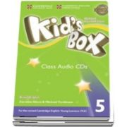 Kids Box Level 4 Class Audio CDs (3) British English