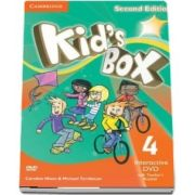 Kids Box Level 4 Interactive DVD (NTSC) with Teachers Booklet