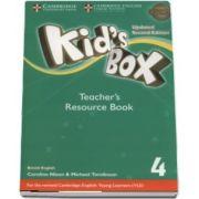 Kids Box Level 4 Teachers Resource Book with Online Audio British English