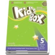 Kids Box Level 5 Activity Book with Online Resources British English