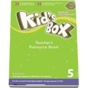 Kids Box Level 5 Teachers Resource Book with Online Audio British English