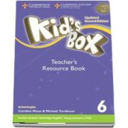 Kids Box Level 6 Teachers Resource Book with Online Audio British English